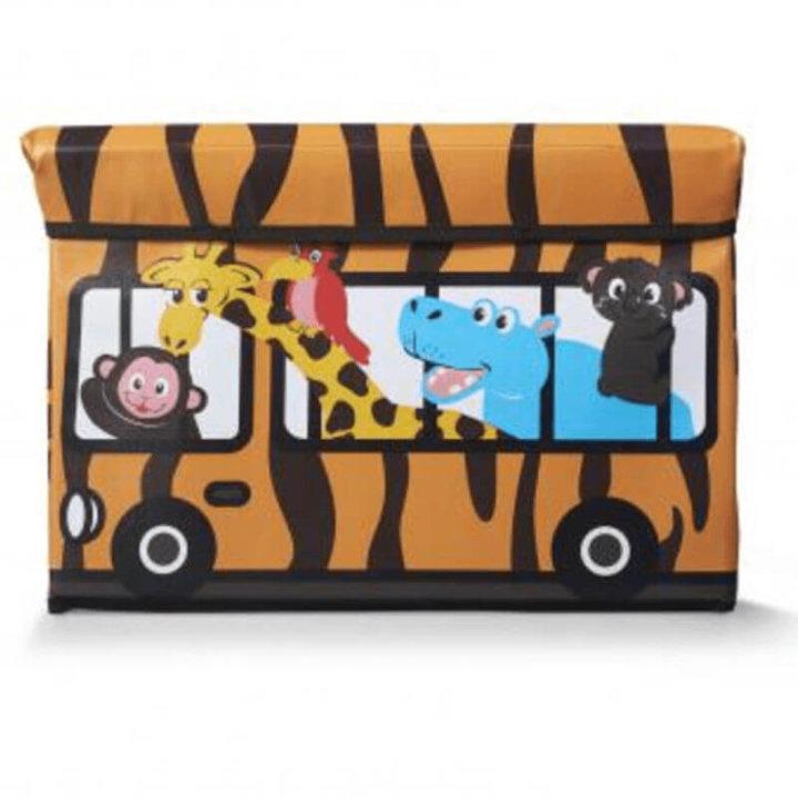 kutija za igračke stolica 49x31x31 cm - safari