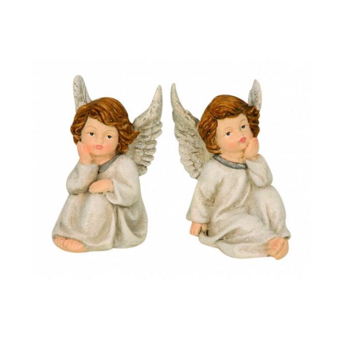 anđeo figura keramička 10 cm
