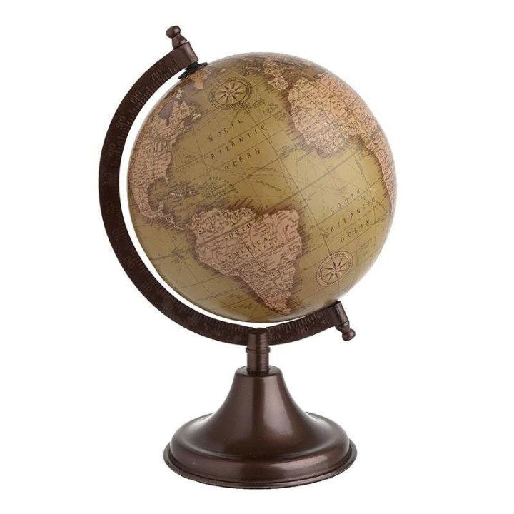 globus s postoljem