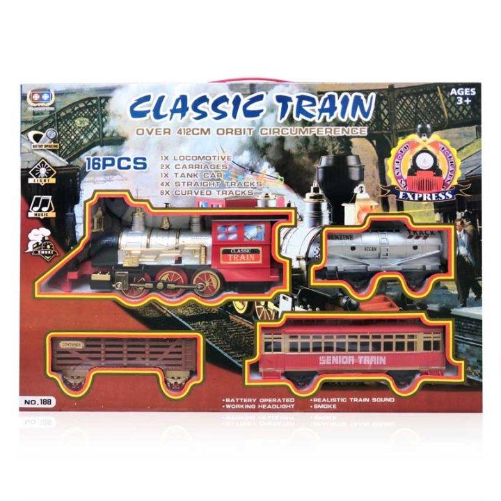 Vlak s tračnicama za igru