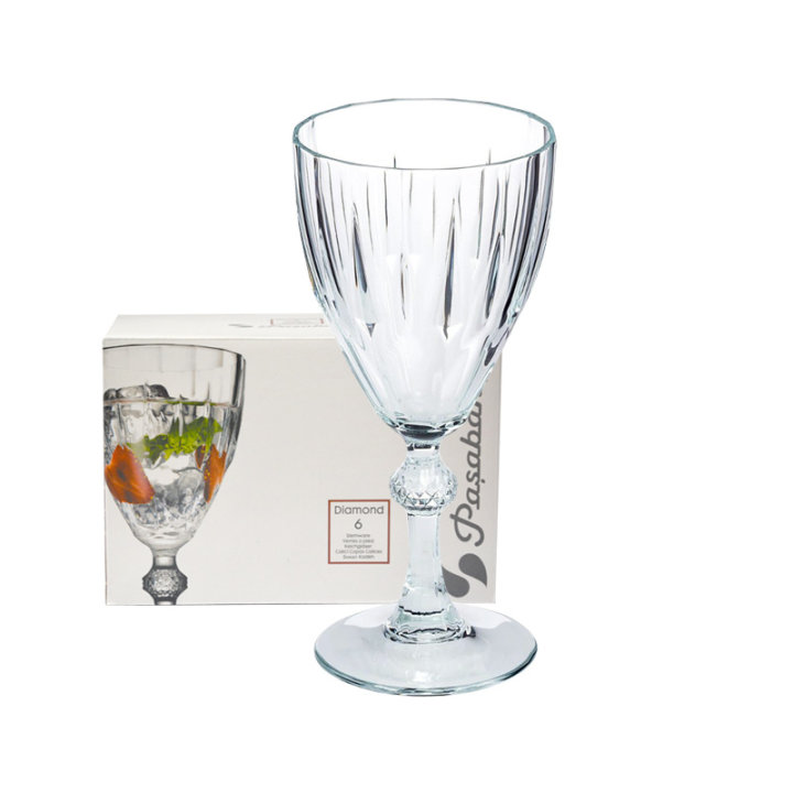 ČAŠE DIAMOND SET 6/1 190 ML