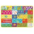 Puzzle s brojevima gigant 88x58,5 cm