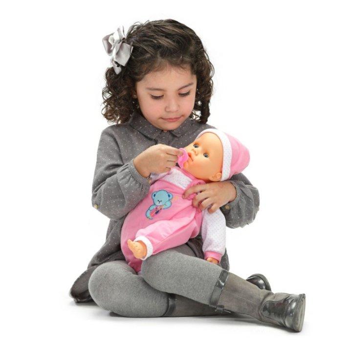 LUTKA DOJENČE INTERAKTIVNA S FUNKCIJAMA - BABY PEQUE