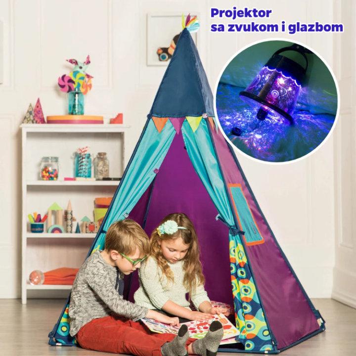 šator za igru dječji
