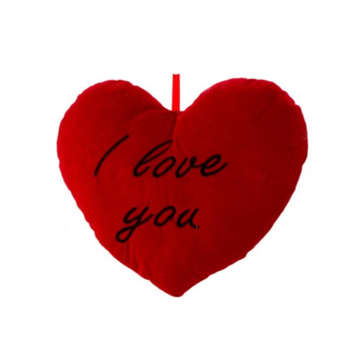 SRCE PLIŠANO 33 CM - I LOVE YOU