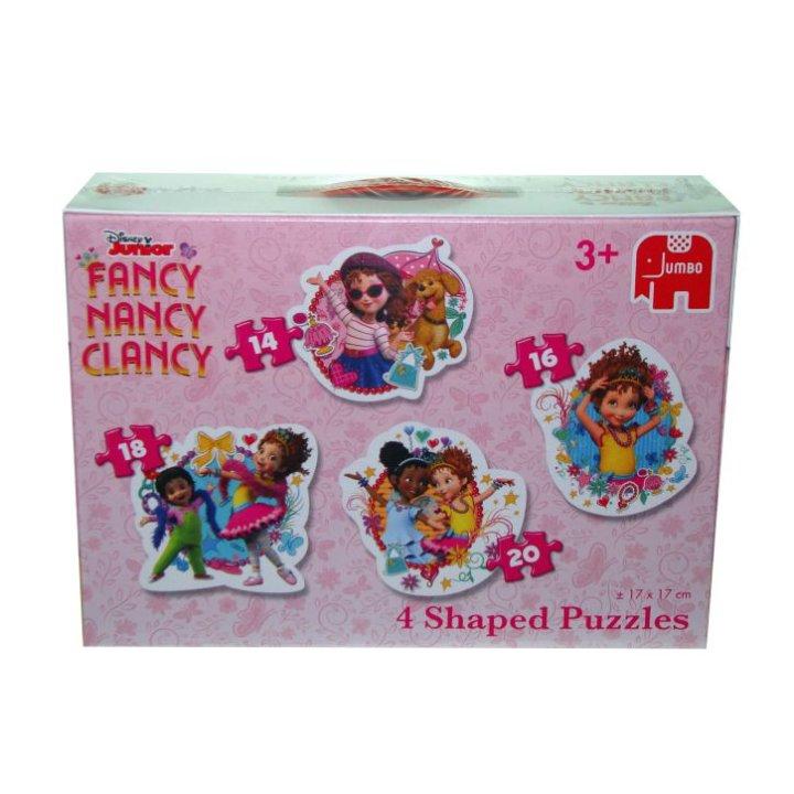 DISNEY FANCY-NANCY-CLANCY PUZZLE 4 U 1 - RAZNI OBLICI