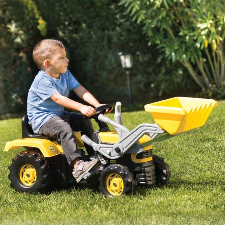 traktori za djecu na pedale s utovarivačem