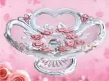 SWEETHEARTS SATIN-ROSE TANJUR STALAK 17cm