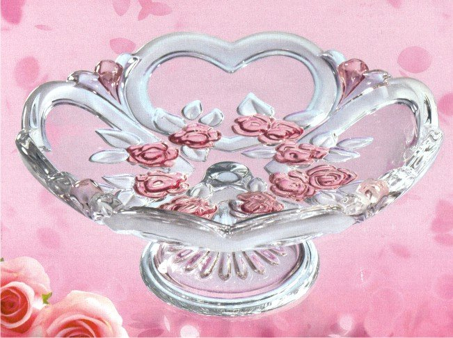 SWEETHEARTS SATIN-ROSE TANJUR STALAK 17cm
