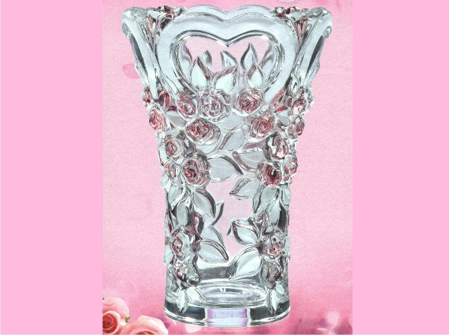 SWEETHEARTS SATIN-ROSE VAZA 20cm