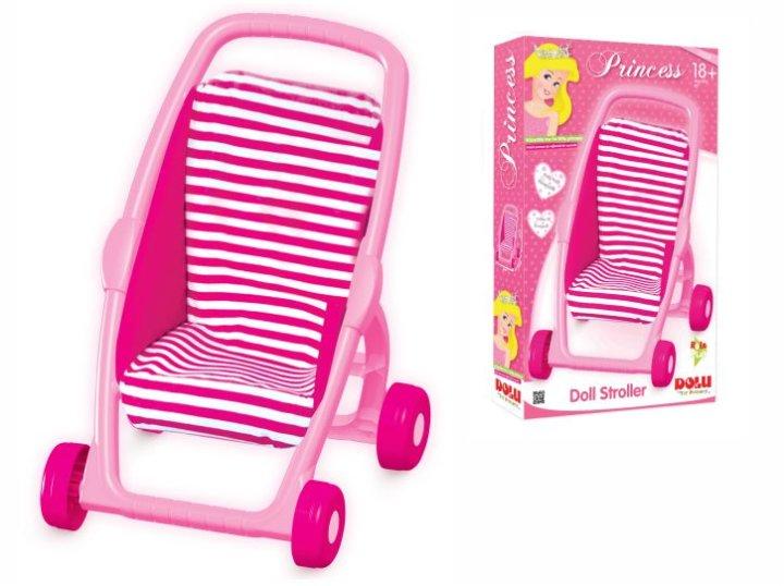 Dječja kolica za lutke roza