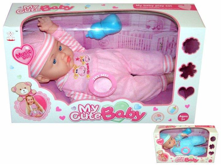 Lutka za djevojčice sa zvukovima na baterije