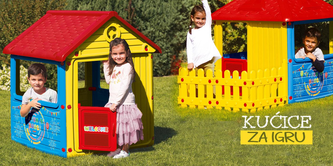 male kućice za igru plastične