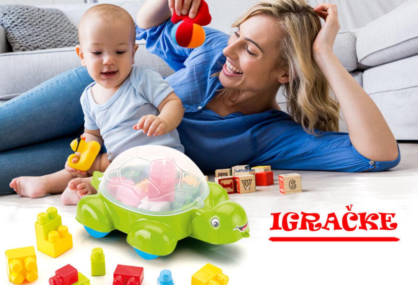 Igračke za jednogodišnje dijete - savjeti za odabir